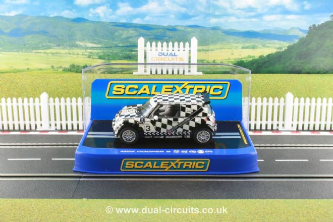 Scalextric C2911 Mini Cooper Nixon Associates #3